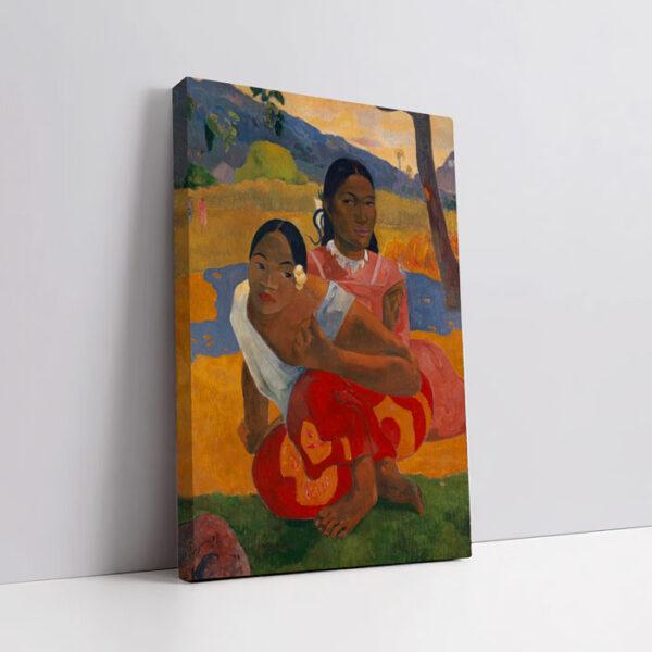 quadro in tela rapporto 2:3 verticale con cornice spessa